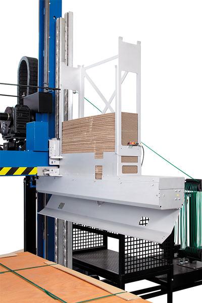 maquina flejadora industrial palets automatica kck
