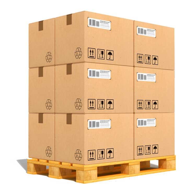paletizado sector logistica embalaje