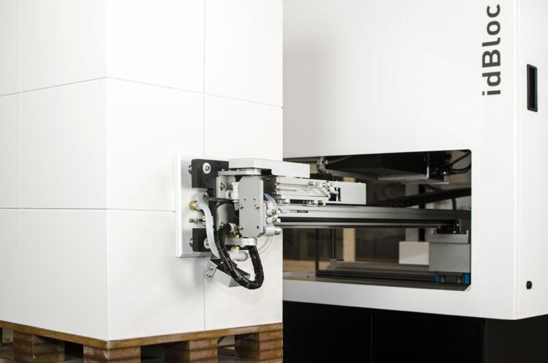 máquina de etiquetaje de palets