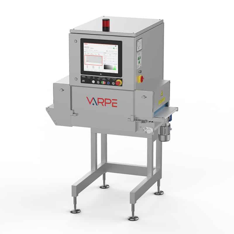 Equipo de rayos X industrial con disparo vertical