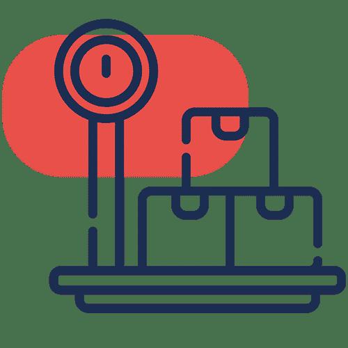 control de peso industrial