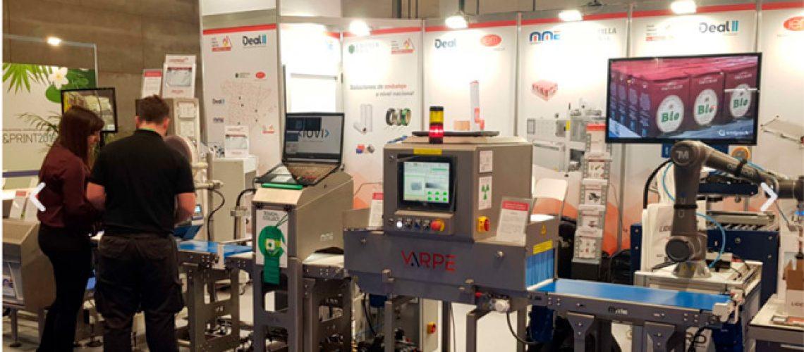 feria empack 2019 MME maquinaria y materiales de embalaje